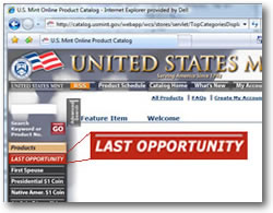 Mint Last Opportunity Products