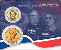 Presidential and First Spouse Medal Set