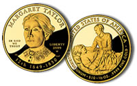Taylor First Spouse Gold Proof Coin