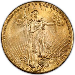 1927 $20 PCGS MS65