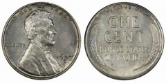 1944-D steel cent, PCGS MS62