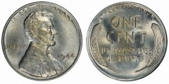 1944-S steel cent, PCGS MS66