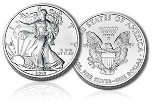 2010-Dated Silver Eagle Bullion Coin