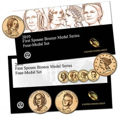 2010 First Spouse Bronze Medal Series