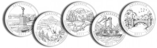 2011 America the Beautiful Quarters and Silver Coin Designs