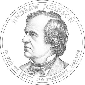2011 Andrew Johnson Presidential Dollar Design