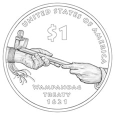 2011 Native American Dollar Design