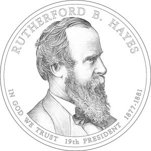 2011 Rutherford B. Hayes Presidential Dollar Design