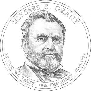 2011 Ulysses S. Grant Presidential Dollar Design