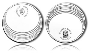Ashes Cricket Series Coin