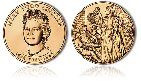 Mary Todd Lincoln Bronze Medal