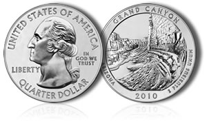 Mount Hood National Park Silver Bullion Coin