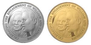 Royal Engagement Coins