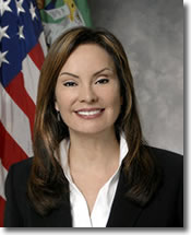 Treasurer of the U.S. Rosie Rios
