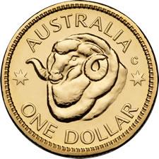 2011 Australian $1 Ram Coin