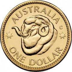 2011 Australian $1 Uncirculated Ram Coin