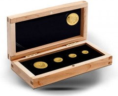 2011 Numismatic Gold Maple Leaf Set