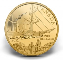 2011 S.S. Beaver Gold Coin