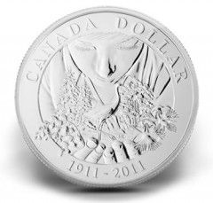 Anniversary of Parks Canada 2011 Brilliant Uncirculated Silver Dollar