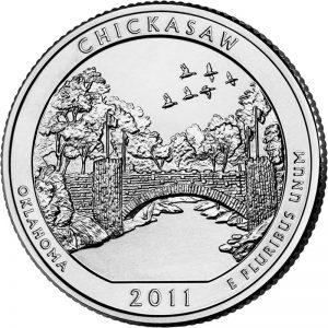 Chickasaw National Recreation Area Quarter