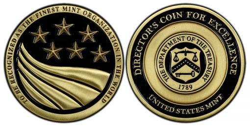 Director's Coin for Excellence Medal