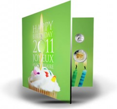 Happy Birthday 25-Cent Coin Gift Set