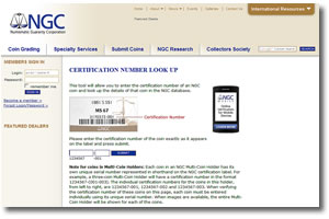 NCG Certification Number Online Look Up