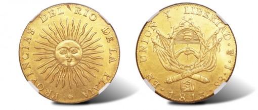Provincias de Rio de la Plata 8 Escudos 1813J