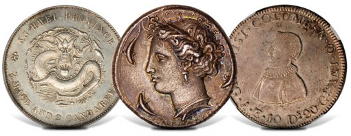 Rare Coins Auctioned at 2011 NYINC