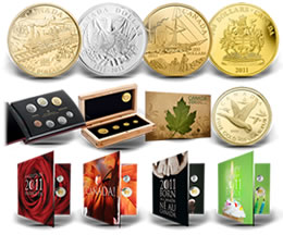 Royal Canadian Mint 2011 Collector Coins