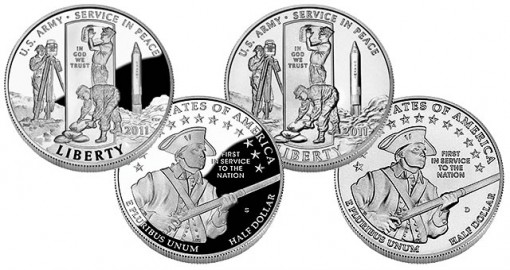 U.S. Army Commemorative Clad Half-Dollar - Proof and Uncirculated