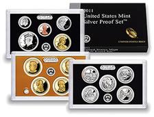 US Mint 2011 Silver Proof Set