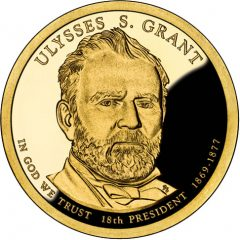 Ulysses S. Grant Presidential $1 Coin Proof