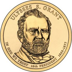 Ulysses S. Grant Presidential $1 Coin Uncirculated