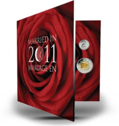 Wedding 25-Cent Coin Gift Set