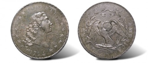 1794 Silver Dollar