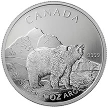 2011 Grizzly Silver Bullion Coin