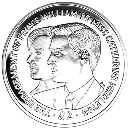prince william and kate middleton coin. Prince William and Kate
