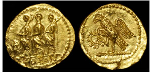 Brutus - Caesar's Assassin Gold Stater Coin