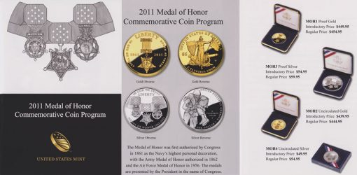 Medal of Honor Commemorative Coin Brochure