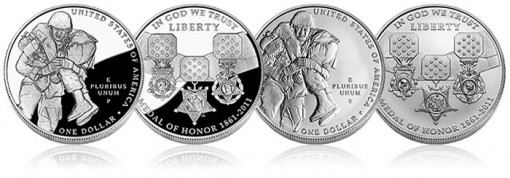 Medal of Honor Silver Commemorative Coins - Proof and Uncirculated