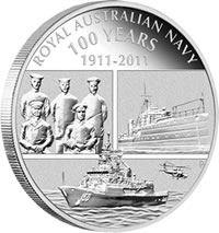 Royal Australian Navy 100 Years Coin