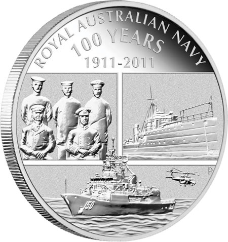 Royal Australian Navy 100 Years Commemorative Coin