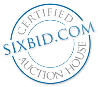 Sixbid Quality Seal for Certified Auction Houses