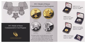 US Mint Medal of Honor Commemorative Coin Brochure