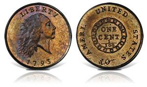 1793 AMERI. Chain Cent