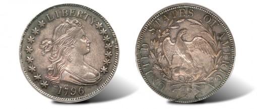 1796 15 Stars Half Dollar