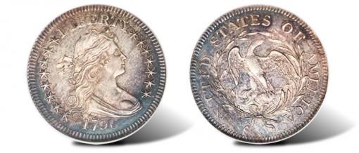 1796 Quarter Dollar