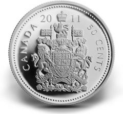 2011 50-Cent Circulation Coin Roll