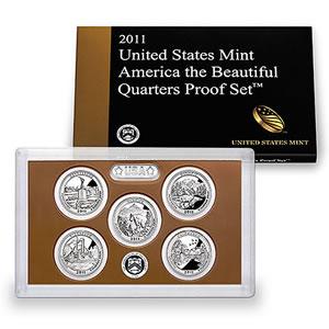 2011 America the Beautiful Quarters Proof Set